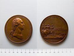 Medal of Washington before Boston
