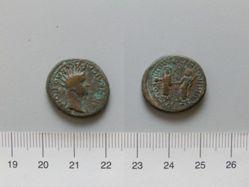 """Coin of C. Caesar Augustus Germanicus (""""Caligula""""), Emperor of Rome from Magnesia ad Sipylum"""