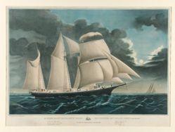 Barque Mary Elizabeth Perew... (Lake Huron)