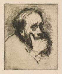 Three-Quarter Portrait of Edgar Degas