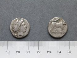 Didrachm from Neapolis