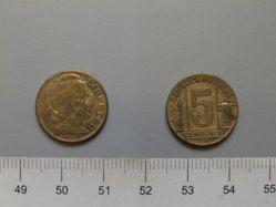 5 Centavos from Argentina