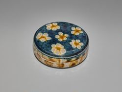 Box with a Floral Design