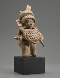 Male Figure with Knotted Costume