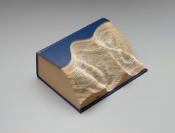Altered Book Landscape