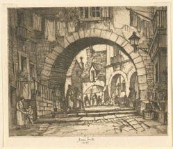 Archway in Valbonne
