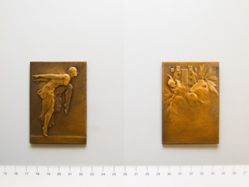 Bronze plaquette