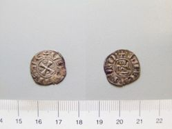 Billon Denier of Hugh I from Cyprus