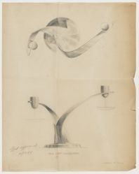 Drawing of a Candelabrum