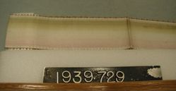 Length of shaded moire ribbon