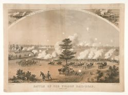 Battle of the Weldon Rail-road Aug. 21st 1864