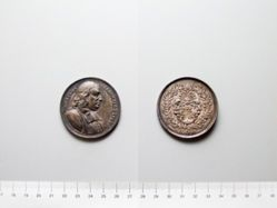 Silver Medal from Netherlands of Aegidius Strauch