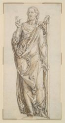 Study for a Draped Figure of Christ