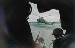 Dropping South Vietnamese Marines and Paratroopers, Mekong Delta, from the series: Larry Burrows: Vietnam, The American Intervention 1962 - 1968