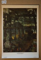 """Staleliteinyi tekh. Zavod """"serp i molot"""" (A Steel Shop. The """"Hammer and Sickle"""" Factory)"""