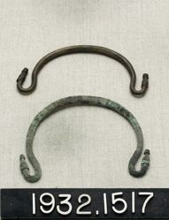 Decorated Bronze Handles