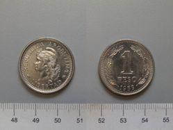 1 Peso of the Republic of Argentina
