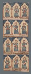 Altar Curtain with Ten Apostles and Two Evangelists