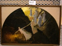 Compositional Study, for Science Revealing the Treasures of the Earth, Rotunda, Pennsylvania State Capitol, Harrisburg