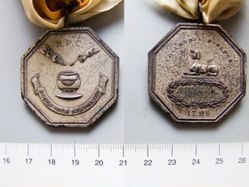 White Metal Medal for Harvard Hasty Pudding Club