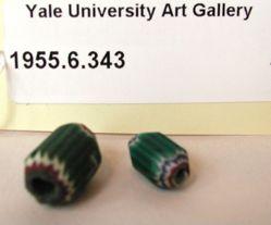2 Venetian Glass Beads