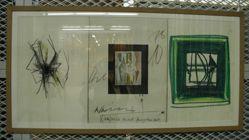 Gemeinschaftsarbeit Triptychon (Communal work triptychon)