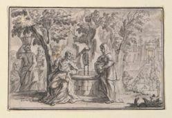 Christ and the Samaritan Woman (John 4), frm Life of Christ