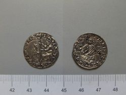 Silver Four Soldus of Leonardo Loredan from Venice