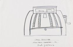 Cash Register (Study for Cedar Bar)
