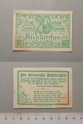 20 Heller from Aichkirchen, 31 January 1921, Notgeld
