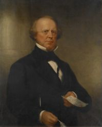 The Honorable Roger Sherman Baldwin (1793-1863), B.A. 1811, M.A. 1814, LL.D. 1845 (after a posthumous portrait of 1863)