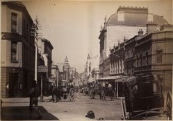 King Street from York Street, Sydney, from the album [Sydney, Australia]