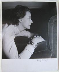 Greta Garbo, in Profile
