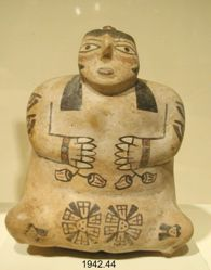 Vessel in the Shape of a Female Figure
