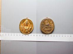 Elizabeth I Dangers Averted Medallion, later copy