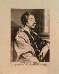 Portrait of Cornelis Schut, from The Iconography
