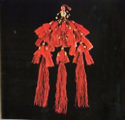 Multi-Tiered Tassel from a Ceremonial Garment