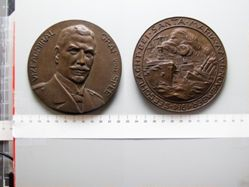 Bronze Medal from Germany of Vice Admiral Graf von Spee