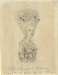 Portrait of Margaret Shippen (Mrs. Benedict Arnold)