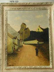 Route a Brumetz (Aisne)