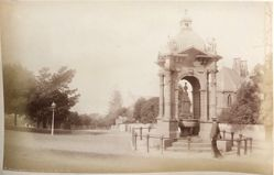 """Frazer's Fountain"" Domain Entrance, Sydney, from the album [Sydney, Australia]"