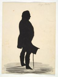 Silhouette of George Perkins