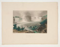 Niagara Falls (From near Clifton House), illustration for Nathaniel Parker Willis's book American Scenery