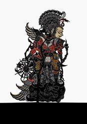 Shadow Puppet (Wayang Kulit) of Bathara Guru