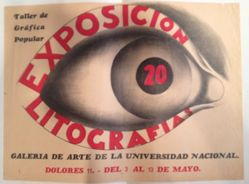 Taller de Gráfica Popular, Exposición 20 litografías (Taller de Gráfica Popular: Exhibition of 20 Lithographs)