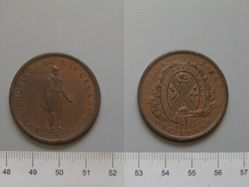 Habitant Penny token from Bank of Montreal