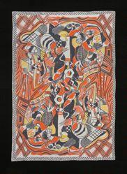"Tablecloth, ""Petit Dejeuner"" Pattern"