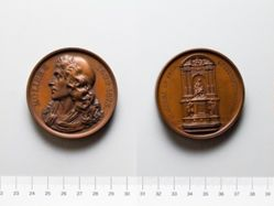 French Medal for the Molière Monument