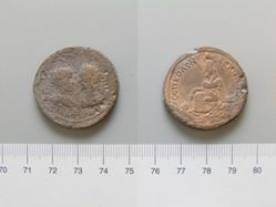 Coin of Gordian III, Emperor of Rome from Nisibis