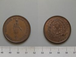 Habitant Penny token from City Bank